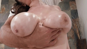 Big boobs MILF Alex Chance helps with plowing hard