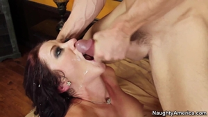 Hard fucking accompanied by very hawt wife Jayden Jaymes