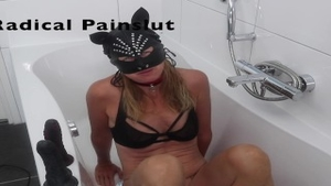 'Drooling, Spitting, Pissing And Squirting Degraded pliant Painslut'
