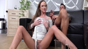 Romantic hard ramming next to erotic chick Cristal Caitlin HD
