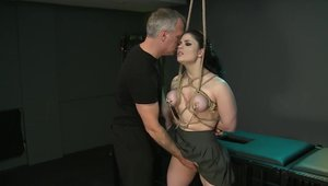 Large tits Lucia Love brunette toys video