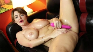 Sophie Dee nailed rough