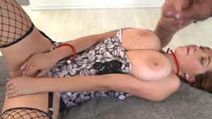 Babe Lucie Wilde enjoys the best sex in corset in HD