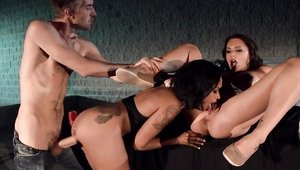 Skin Diamond and Juelz Ventura threesome