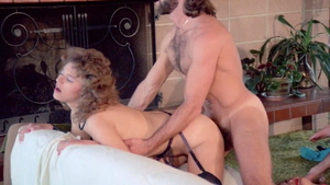 Colleen Brennan in sexy stockings sucking cock HD