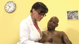 Doctor pussy eating
