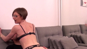 French cum in mouth HD
