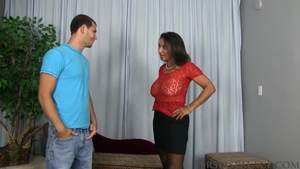 Ramming hard starring saggy tits american mature Persia Monir