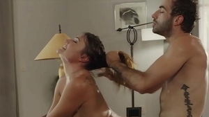 Raw hard nailining with Jake Adams shaved Aspen Reign