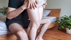 Erotic amateur finds irresistible hard pounding HD