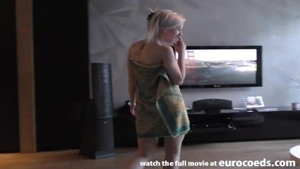 Raw sex in the company of pretty blonde haired