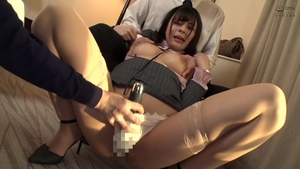 Pussy fucking in company with big boobs asian brunette