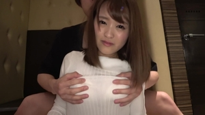 POV fucking in company with super hot japanese brunette
