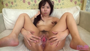 Small tits & hairy japanese brunette uncensored sex toys solo