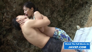 Small boobs japanese brunette digs censored pussy sex HD