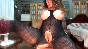 Busty spanish mature desires plowing hard