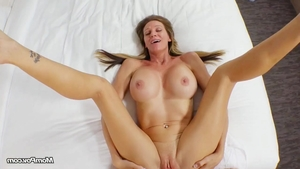 Stunning slut POV masturbating ass fucking in HD