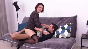 Wife creampied in HD
