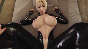 Sex scene large tits wearing latex