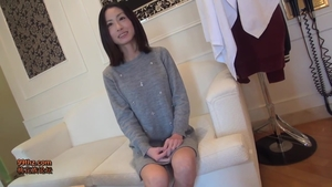POV raw fucking together with japanese brunette