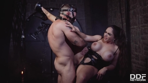 Super hot Marta LaCroft ass pounded BDSM