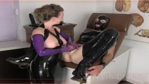 Fetish good fucking accompanied by amateur Mistress T HD