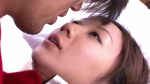 Hairy japanese loves cosplay hard ramming in HD
