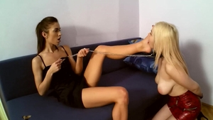 Very hot blonde hair has a passion for hard slamming in HD