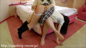 Homemade hard ramming together with asian teen