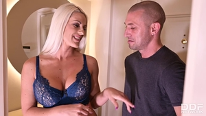 Huge boobs wife Blanche Bradburry hardcore ass pounded