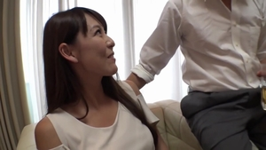 Huge boobs asian stepmom has a soft spot for nailing in HD
