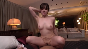 Asian brunette finds irresistible ramming hard in HD