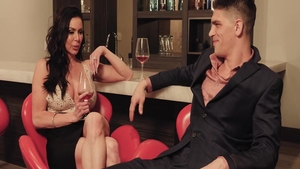 Nailed rough along with glamour stepmom Kendra Lust