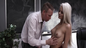 Nailed rough starring piercing caucasian blonde Elsa Jean