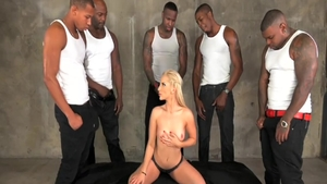 Hard fucking starring incredible blonde haired Ashley Fires