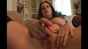 Large boobs blonde Gianna Michaels POV bondage cock sucking
