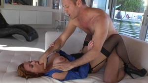 Rocco Siffredi & Veronica Avluv penetration in the woods
