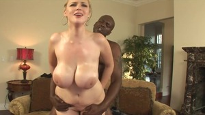 Busty accompanied by Lex Steele goes wild on cock