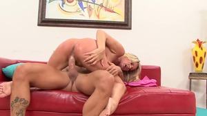 Incredible & big tits pornstar Bridgett Lee cumshot