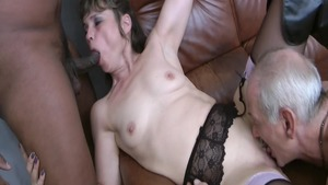 Naughty french amateur has a thing for hardcore hard sex