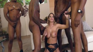 Big boobs Brooklyn Chase group sex