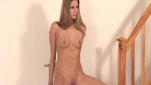 Lena Cova pussy eating at the casting